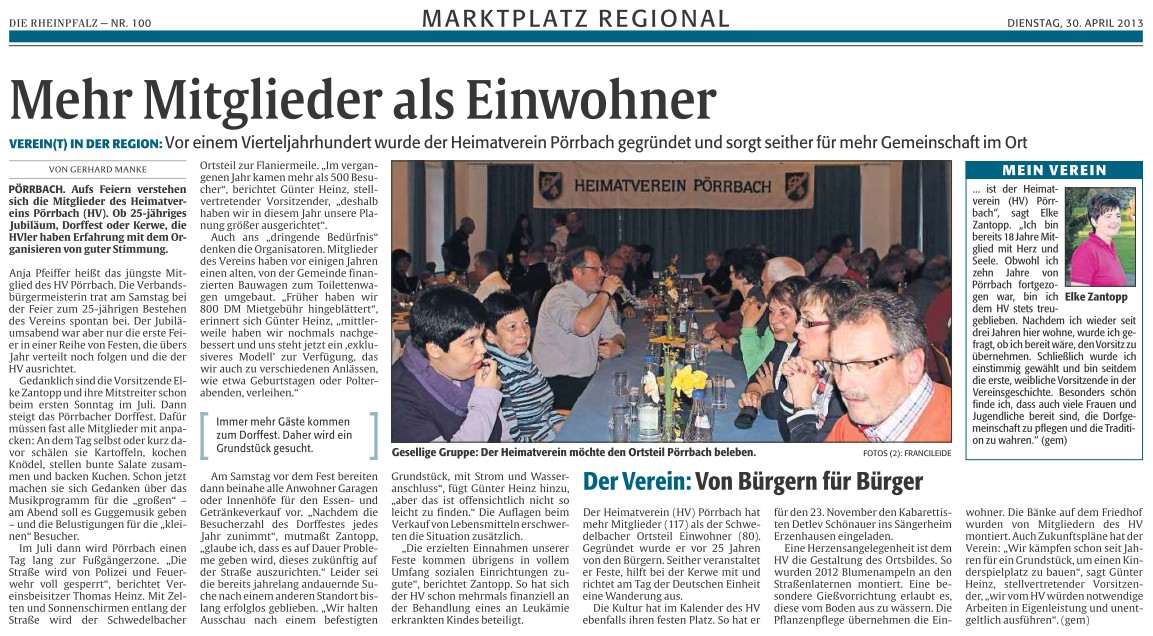 Jubiläumsveranstaltung - Marktplatz regional 30.04.13-2