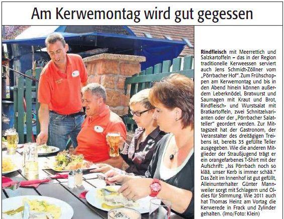 Kerwe 2013 - Marktplatz regional 21.08.13